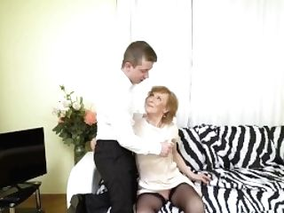 Agedlove Hot Granny Fucking With Horny Youngster