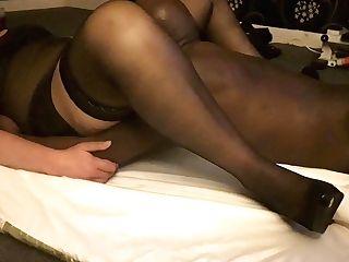 Mummy Rents Big Black Cock Masculine Escort