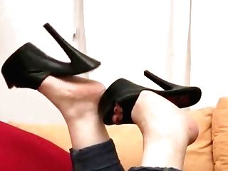 Shoeplay With Platform Mules