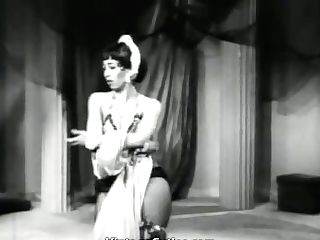 Hot Belly Dancer Does Her Best (1950s Antique)
