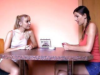 Amazing Pornographic Stars Micha, Eufrat In Incredible School, Girly-girl Pornography Scene