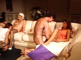 Promiscuous Housemaid With Fine Forms Takes Her Fat Master's Man Rod For A Rail