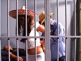 Filthy Mexican Whore Gets Lured By Horny Prisoner In Ward