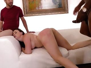 Fucking Hot Cougar Chanel Preston Serves A Few Black Studs