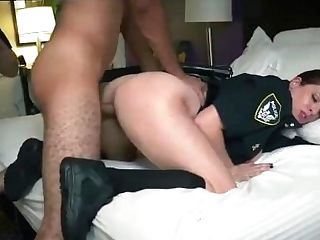 Mummy And Youthful Strap On Cop Mouth Fuck Then
