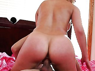 Curvy Blonde Hoe Cherie Deville Fucks Hot Stud In Bedroom
