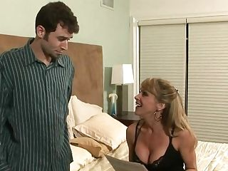 Matures Hot Mom With Junior Man In Bedroom