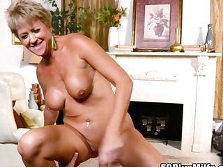Tracy Licks, Inhales, Fucks And Gets A Internal Cumshot - Tracy Licks And J Mac - 50plusmilfs