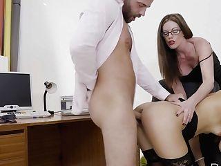 Penelope Spunk In Smooch & Tell - Officeobsession