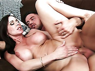 Mega Huge-titted Dark Haired Mummy Kendra Zeal Gets Orgasm From Johnny Castle