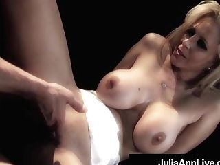 Cougar Queen Julia Ann Gets Buttfuck Fucked On Stage!